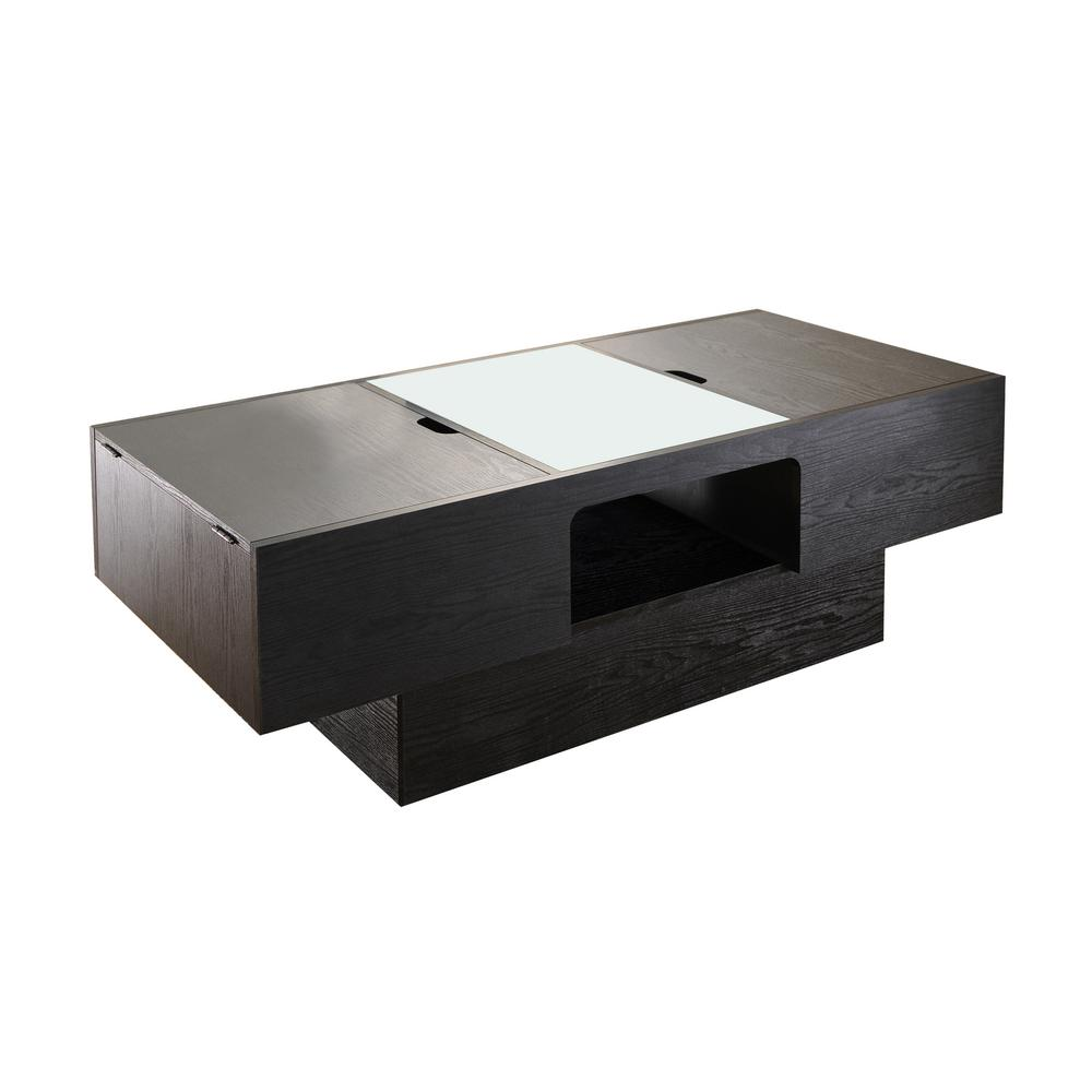 Aiden Black Lift-Top Coffee Table