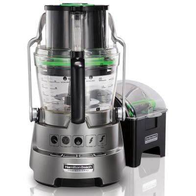 Professional 14 Cup Silver Dicing Food Processor