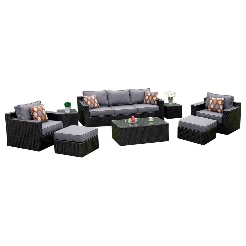 Wicker Seating Set Cushions