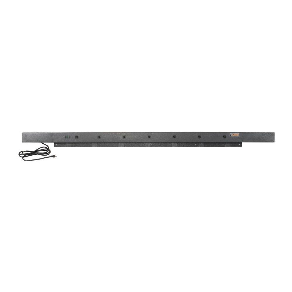 Phenomenal Gladiator 6 Ft 9 Outlet Workbench Power Strip With Tool Caddy Extensions In Hammered Granite Alphanode Cool Chair Designs And Ideas Alphanodeonline