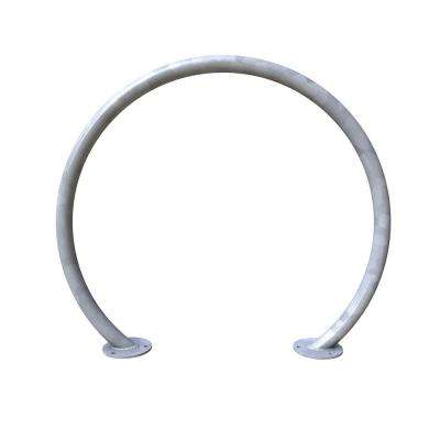 2-Bike Galvanized Action Circle Surface Mount Bike Rack