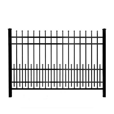 3/4 in. x 1.5 ft. x 6 ft. Black Aluminum Fence Puppy Guard Add-On Panel