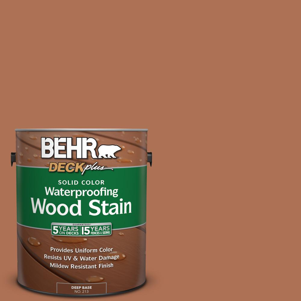 1 gal. #PPU3-15 Glazed Pot Solid Color Waterproofing Wood Stain