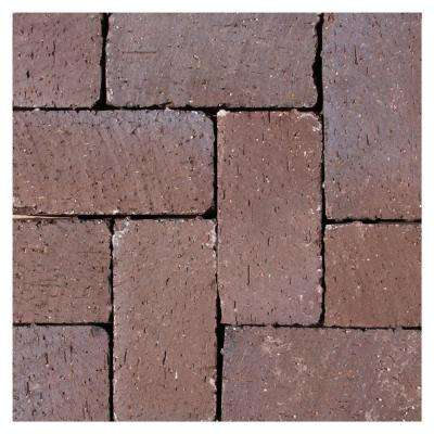 Tumbled Clay Brown Flash Paver