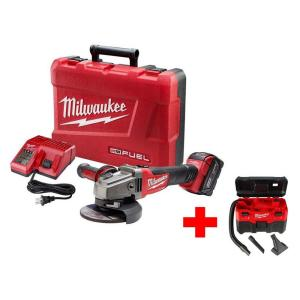 Milwaukee M18 FUEL 18-Volt Lithium-Ion Brushless Cordless 4-1/2 in./5 inch... by Milwaukee
