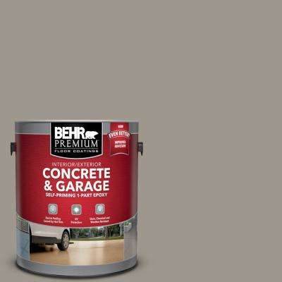1 gal. #PFC-73 Pebbled Path Self-Priming 1-Part Epoxy Satin Interior/Exterior Concrete and Garage Floor Paint