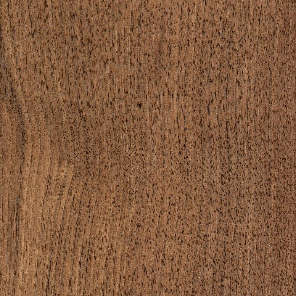 Home Legend Take Home Sample - Walnut Americana 3/8 in. Thick Click Lock Hardwood Flooring - 5 in. x 7 in.