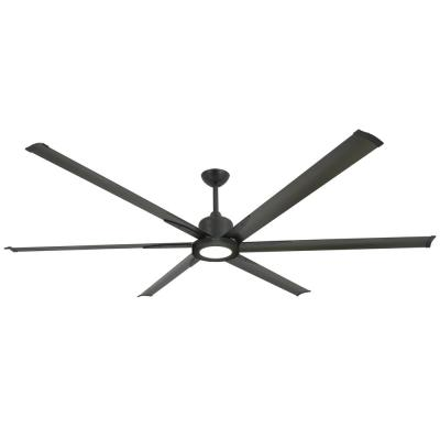 Titan II 84 in. LED Indoor/Outdoor Oil Rubbed Bronze Ceiling Fan with Remote Control