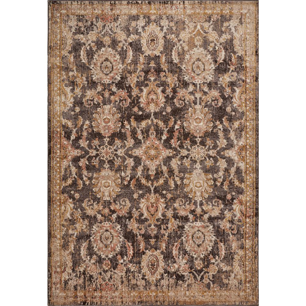 Kas Rugs Manor Taupe Chester 5 Ft. X 8 Ft. Traditional