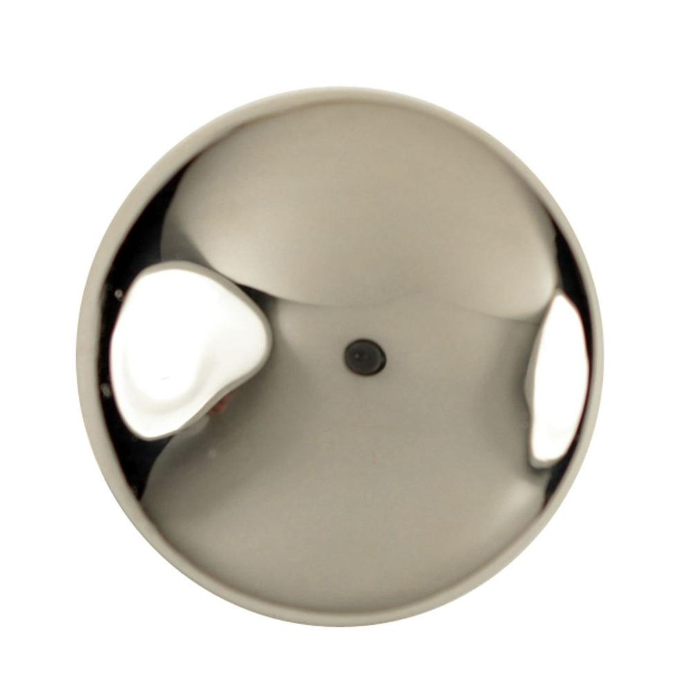 Copper Mountain Hardware 1-1/4 in. Polished Nickel Round Cabinet Knob