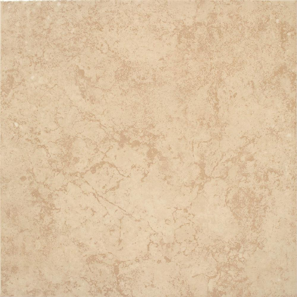 Trafficmaster 16 In X 16 In Sonora Taupe Ceramic Floor