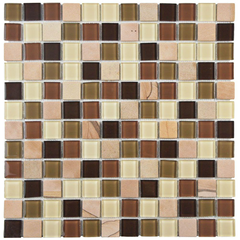 Spectrum Square Kalamata 11-3/4 in. x 11-3/4 in. x 4 mm