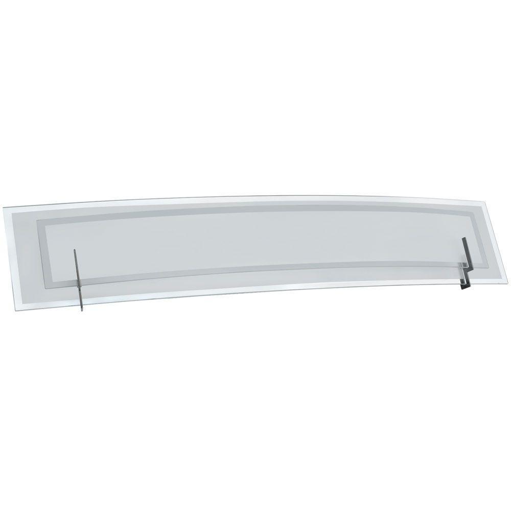 Pamelia 4-Light Satin Chrome Bath Vanity Light