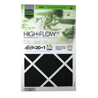 16 in. x 25 in. HVAC Air Filter - FRP 8  1 year High Flow Filter