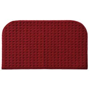 Garland Rug Herald Square Chili Red 1 ft. 6 inch x 2 ft. 4 inch Accent Rug by Garland Rug