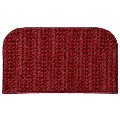 Herald Square Chili Red 1 ft. 6 in. x 2 ft. 4 in. Accent Rug