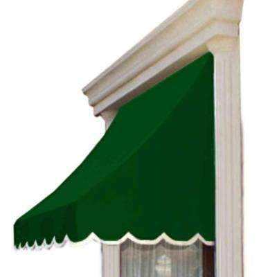 4.38 ft. Wide Nantucket Window/Entry Awning (44 in. H x 36 in. D) in Forest