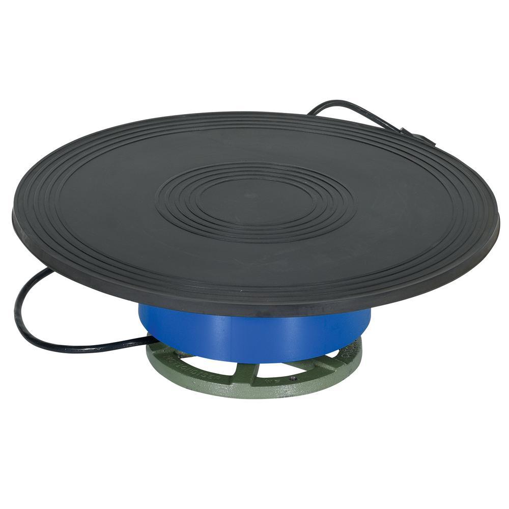 Vestil 750 lb. Capacity Clockwise Powered Turntable by Vestil