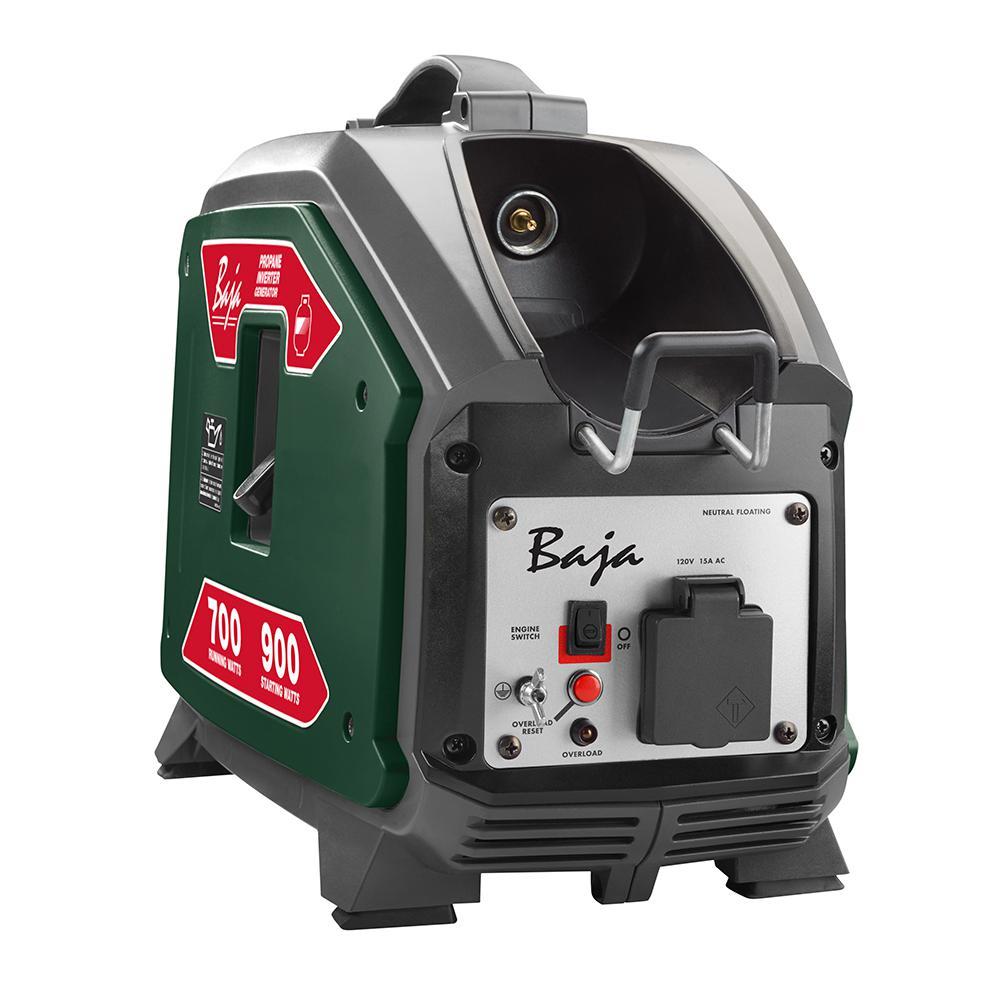 Baja 900-Watt Propane Powered Inverter Generator