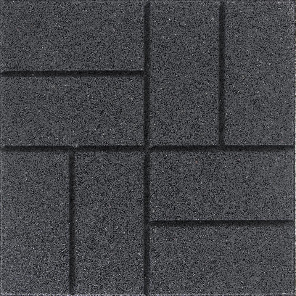 X 16 In 0 75 Slate Brick Face