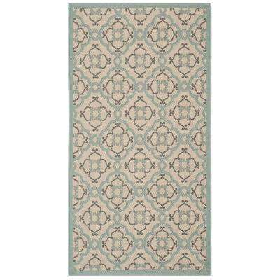 Teal 3 X 5 Outdoor Rugs Rugs The Home Depot