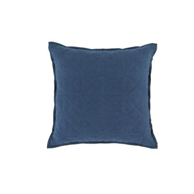 Sailor Navy Cotton 18 in. x 18 in. Decorative Pillow
