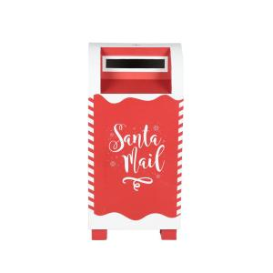 15.25 in. Letters to Santa Mailbox