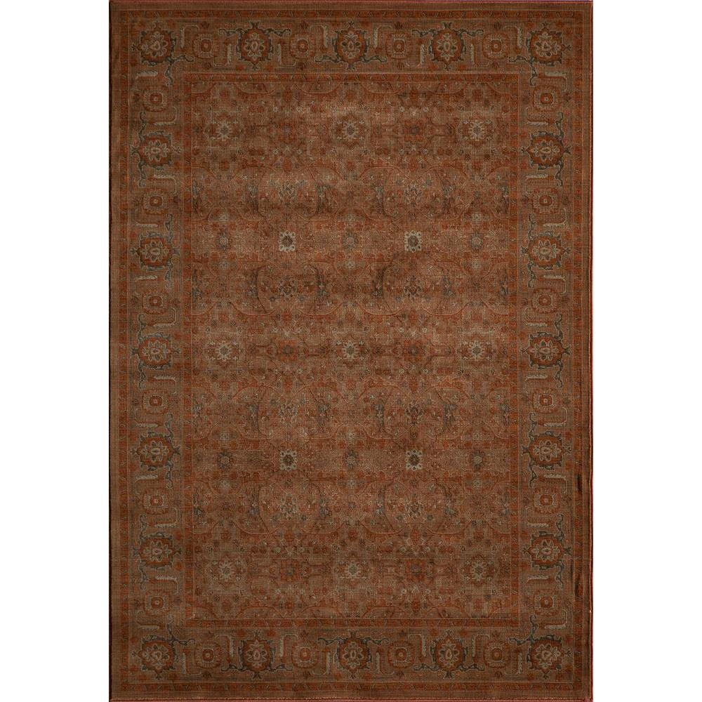 Momeni Encore Paprika 5 ft. 3 in. x 7 ft. 9 in. Indoor Area Rug