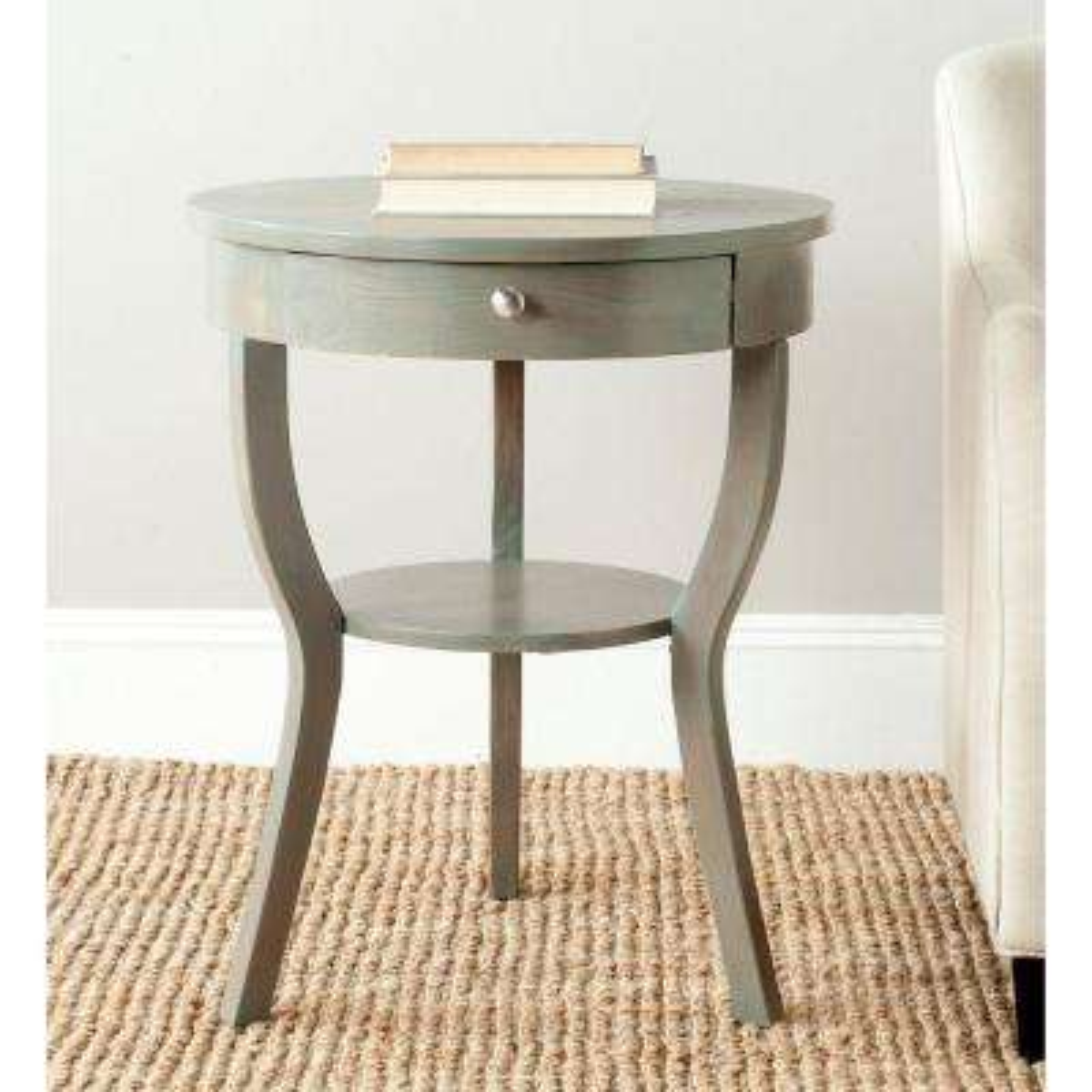 Kendra Ash Grey Storage End Table