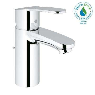 Eurostyle Cosmopolitan Single Hole Single-Handle Bathroom Faucet in StarLight Chrome