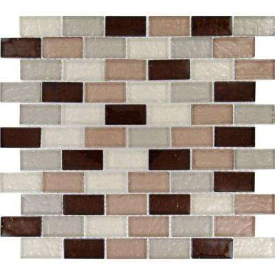 Ayres Blend 12 in. x 12 in. x 8mm Glass Mesh-Mounted Mosaic Tile