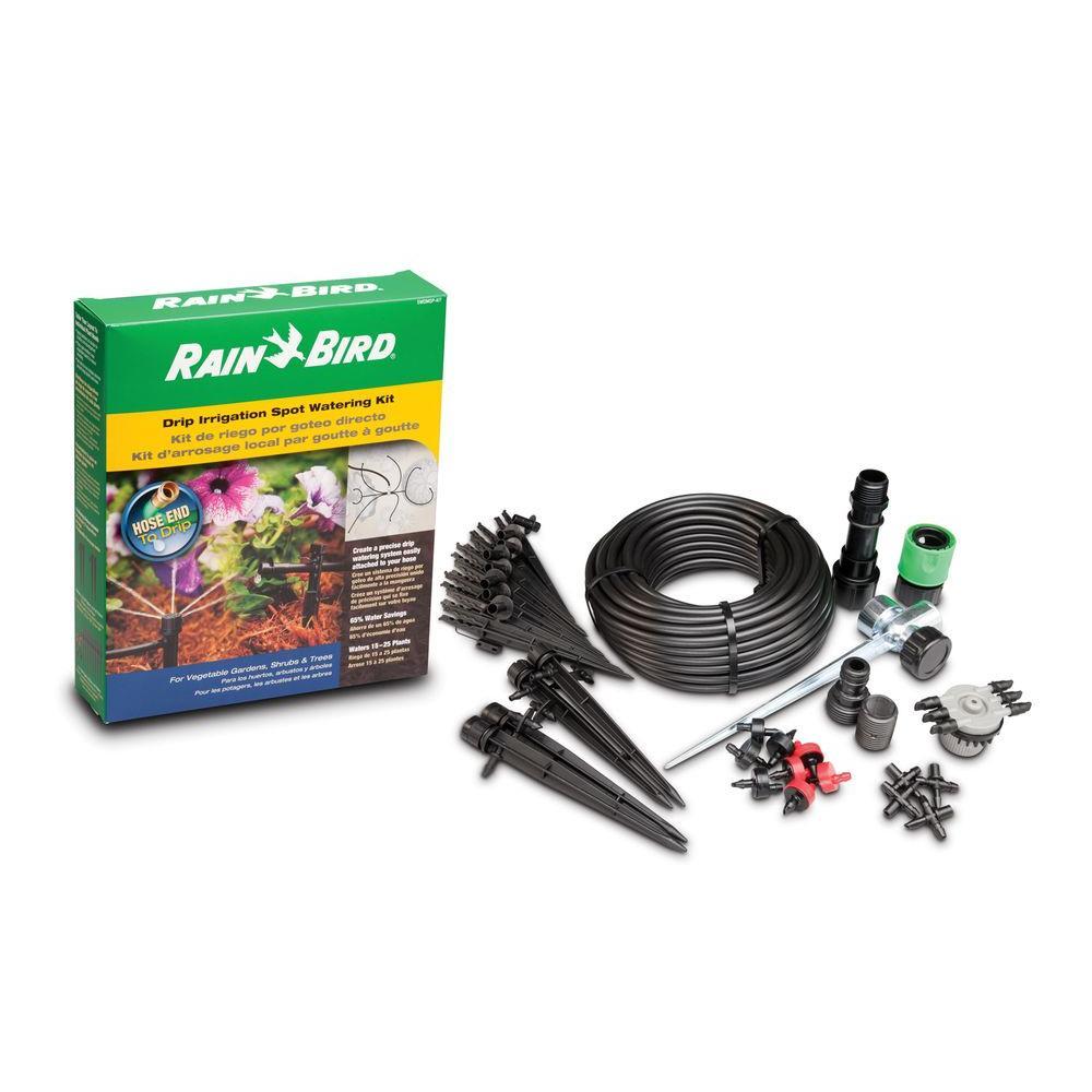 Rain Bird Drip Irrigation Spot Watering Kit, Blacks
