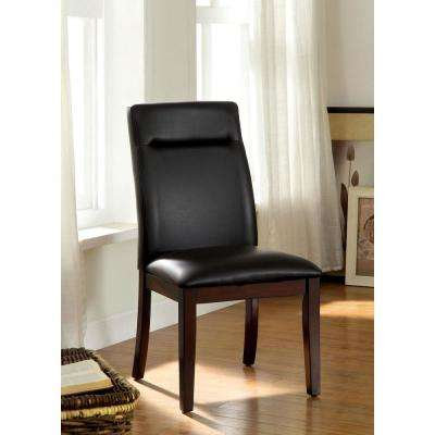 Lawrence Dark Cherry Contemporary Style Side Chair