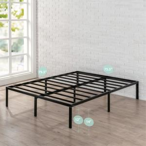 Zinus Yelena 14 Inch Classic Metal Platform Bed Frame With
