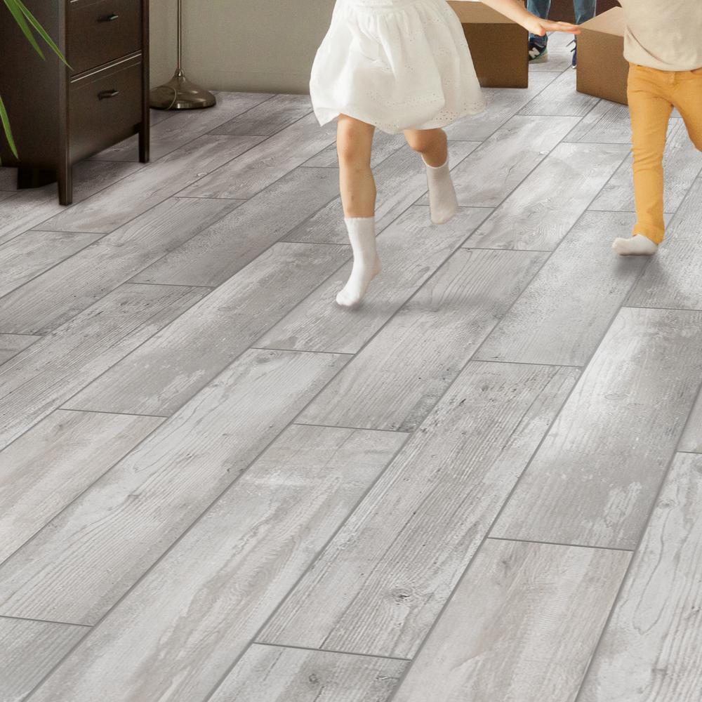 Alaskan Powder 8 in. x 36 in. Porcelain Floor and Wall Tile (367.2 sq. ft./ pallet)