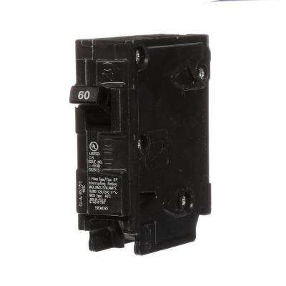 60 Amp Single-Pole Type QP Circuit Breaker