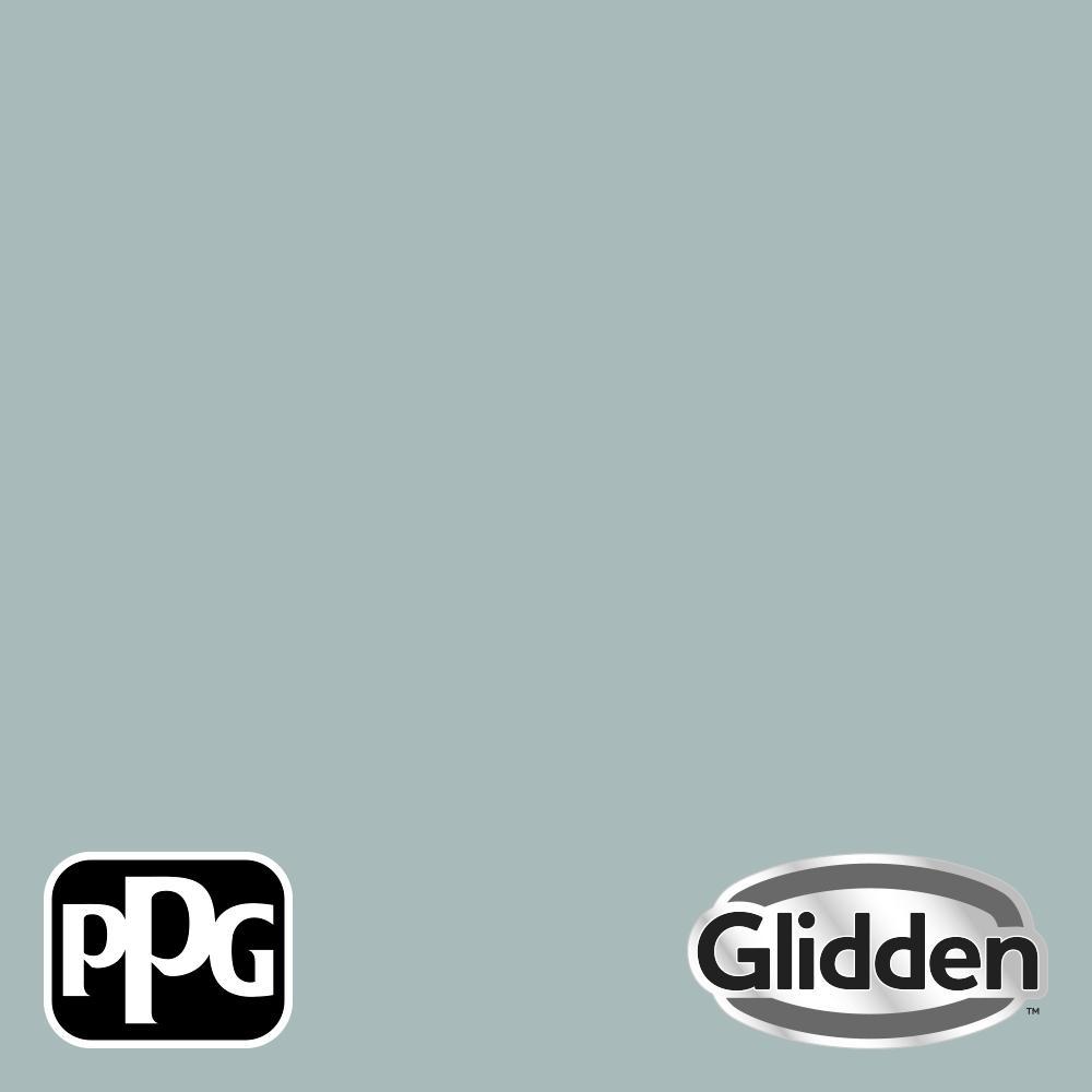 8 oz. PPG1145-4 Blue Willow Eggshell Interior Paint Sample