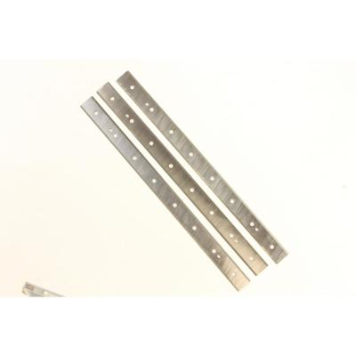 15 in. Straight Bladed Quick Change Steel Planer Knives (Set of 3) for 15 in. Planer