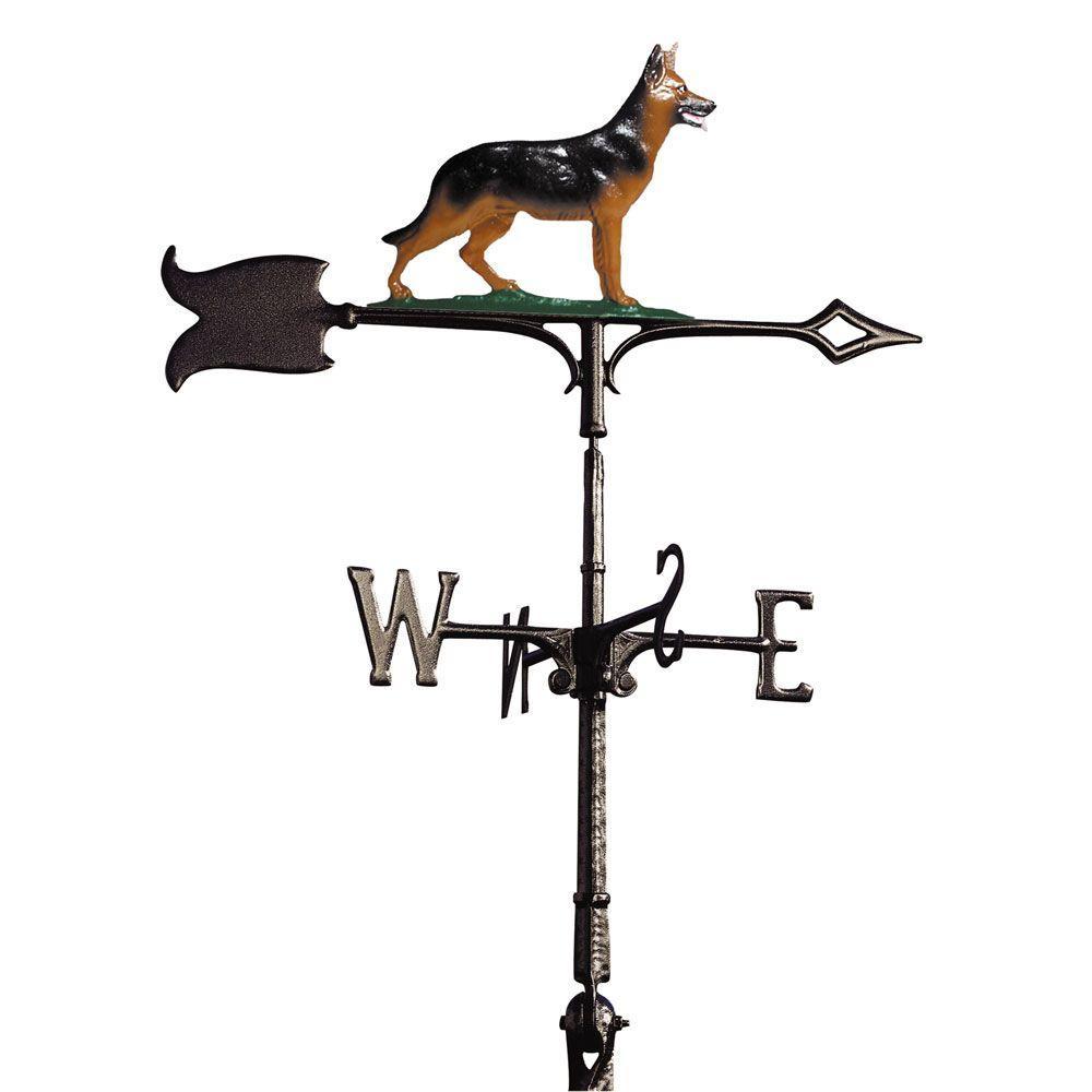 Whitehall Products 30 in. German Shepherd Weathervane