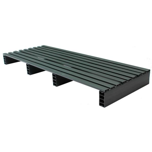 Jifram Custom Built Plastic Pallets 18 in. x 48 in. Storage Pad