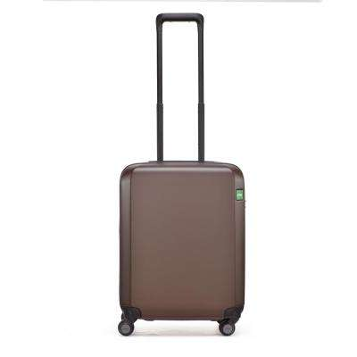 Rando Expandable 21.3 in. Chocolate Hardside Spinner Suitcase