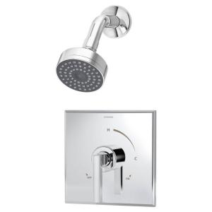 Symmons Duro Single-Handle 1-Spray Shower System in Chrome (Valve Included) by Symmons