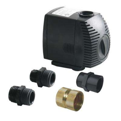 500 GPH Rain Barrel Pump Kit