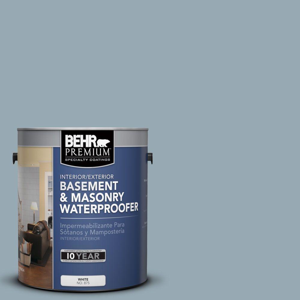 BEHR Premium 1 gal. #BW-54 Steely Blue Basement and Masonry Waterproofer
