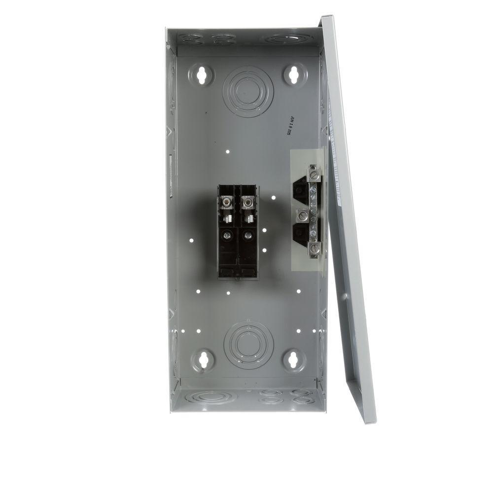 125 Amp 2-Space 4-Circuit Main Lug Load Center