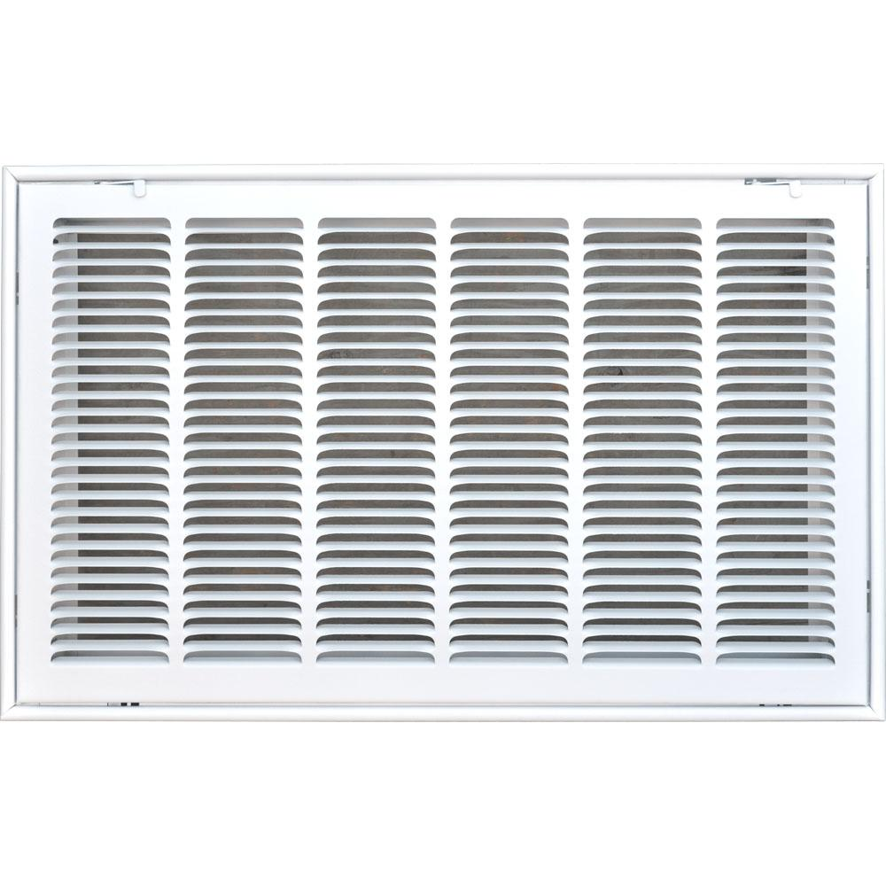 14 in. x 30 in. Return Air Vent Filter Grille with