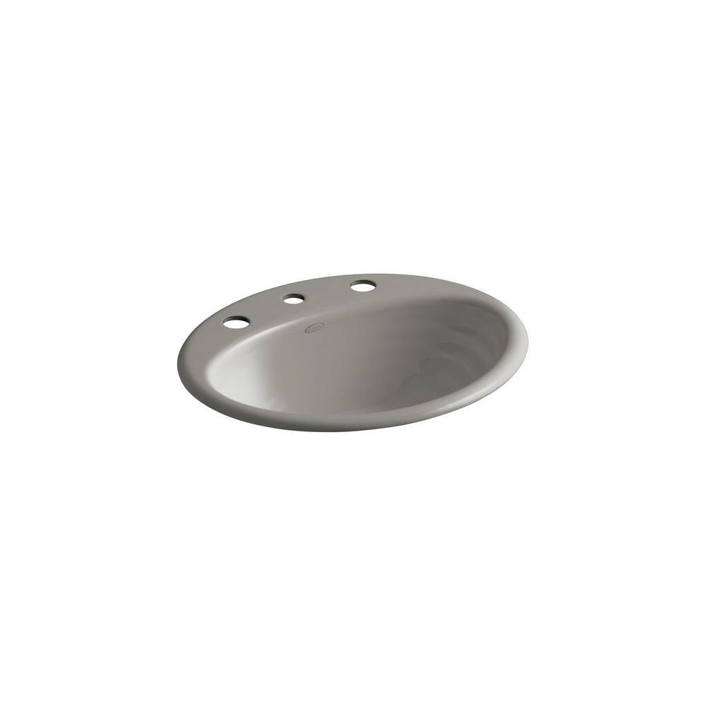 KOHLER Ellington Drop-in Bathroom Sink in Cashmere