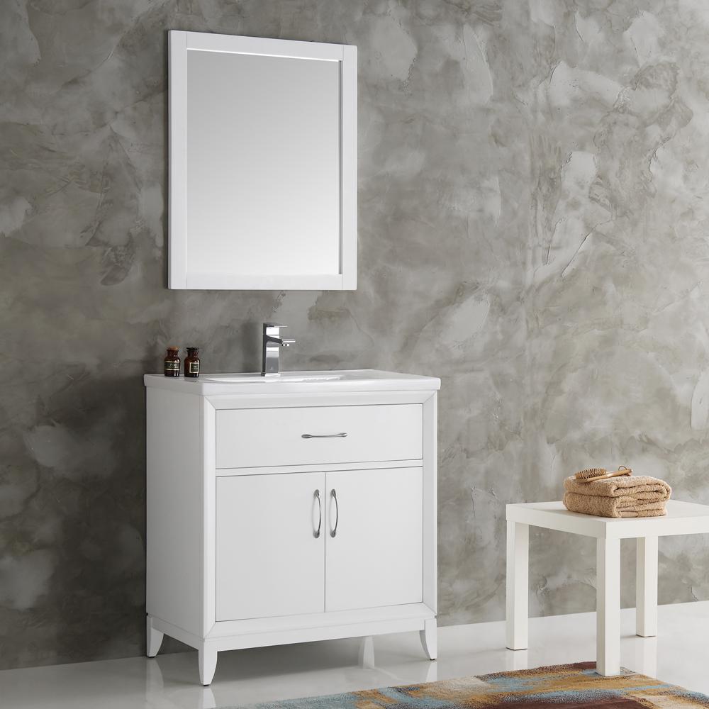 bathroom vanity tray decor.htm fresca cambridge 30 in vanity in white with porcelain vanity top  fresca cambridge 30 in vanity in white