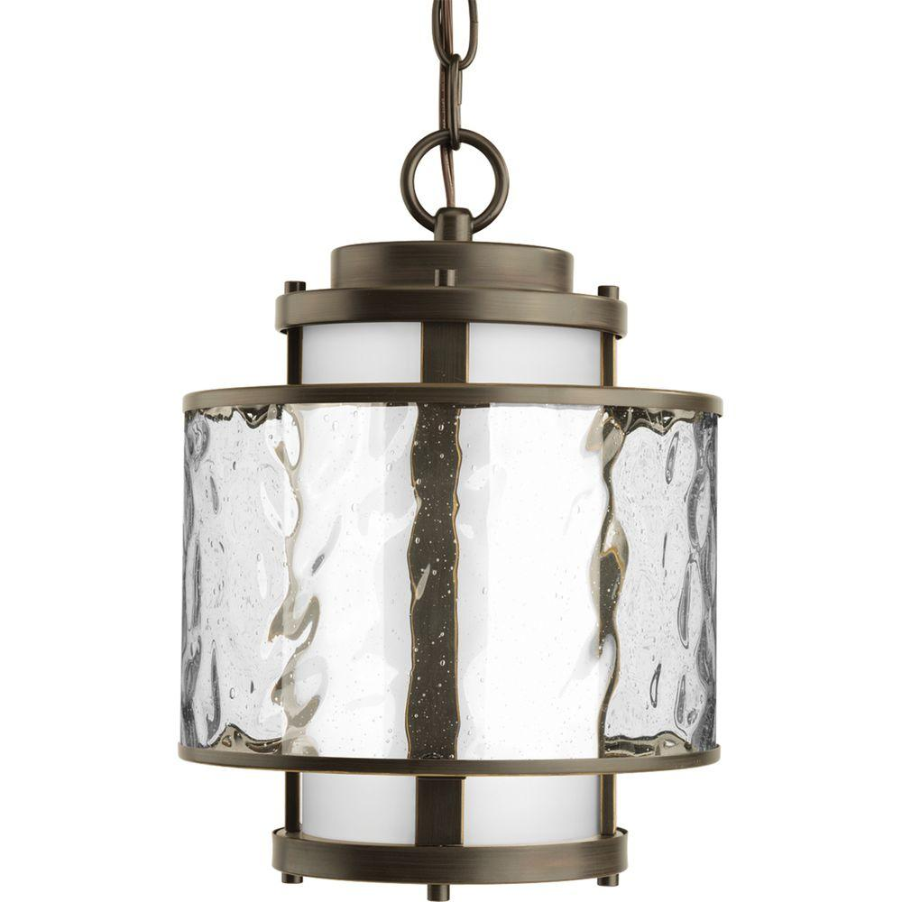 Progress Lighting Bay Court Collection Antique Bronze Outdoor Hanging Lantern