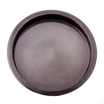 16 in. Gunmetal Serving Tray